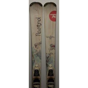 SKI Ski parabolique Femme ROSSIGNOL Temptation 82 + Fi