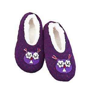 Adulte Haut Top Pantoufles Violet Taille UK M UK 4-6 Neuf Taille M