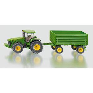 VOITURE - CAMION SIKU Tracteur John Deere avec Remorque - Echelle 1