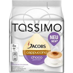CAFÉ TASSIMO Jacobs Cappuccino Choco 8 Dosettes