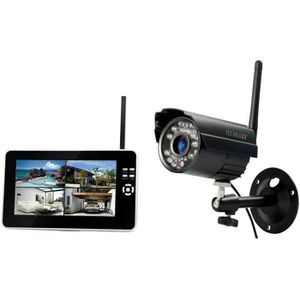 CAMÉRA DE SURVEILLANCE TECHNAXX Kit de surveillance TX-28 caméra + écran