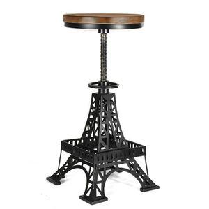 TABOURET DE BAR Tour Eiffel Design Tabouret de Bar Industriel Chai