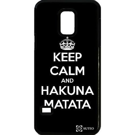 Coque Samsung Galaxy S5 Mini – Keep Calm and Hakuna Matata - ref ...