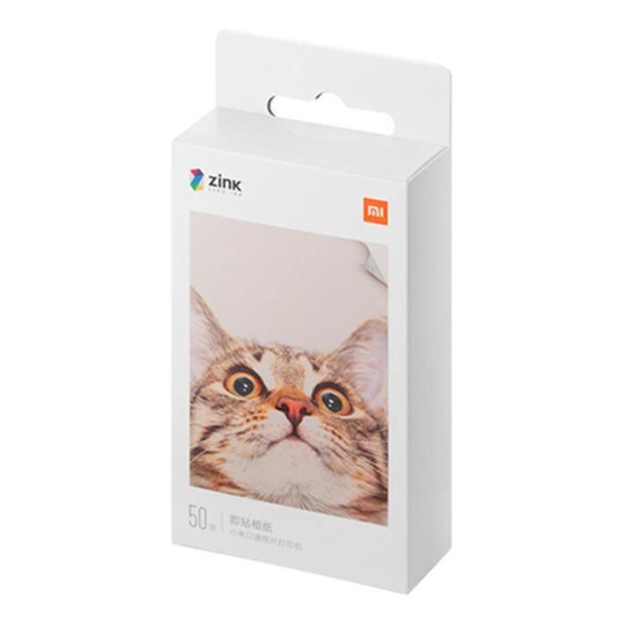 50 Pièces 2 X 3 inch Papier Photo - Feuilles de Papier - Pour Xiaomi Mi AR Imprimante