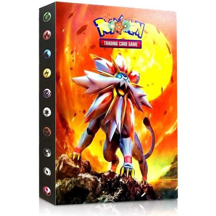 Classeur pour Pokemon Albums pour Cartes /à Collectionner Raichu Sinwind Pokemon Album Classeur GX EX bo/îte 30 Pages Peuvent Contenir 240 Cartes Pok/éMon Carte