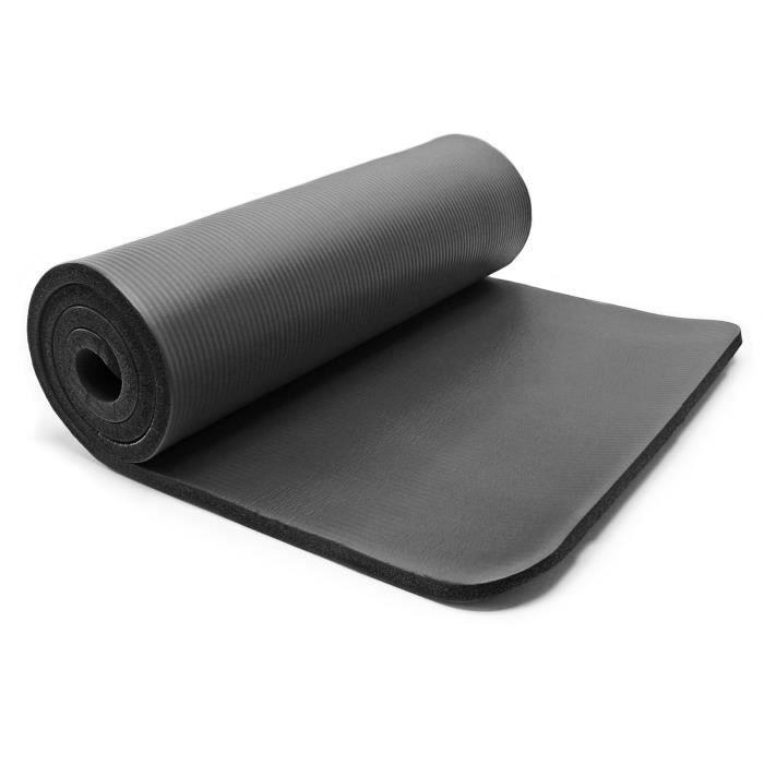Tapis de yoga 190x100x1.5cm physio fitness aérobic gym pilates matelas antidérapante extra épais - 30316