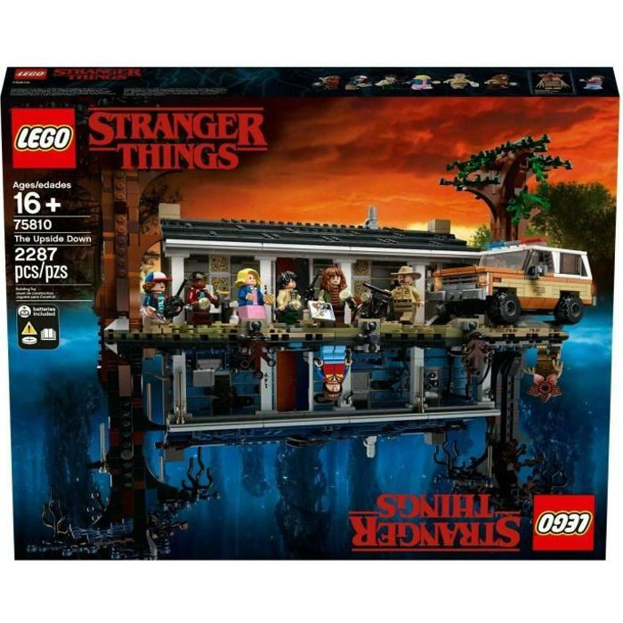 Lego Stranger Things: The Upside Down 75810 set - VIP Exclusive
