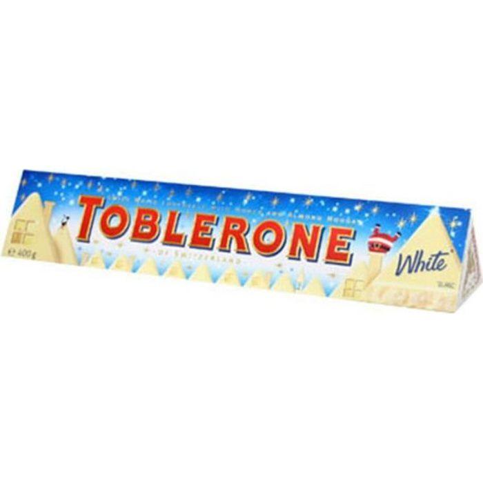 Maxi Toblerone 360g Chocolat Blanc White