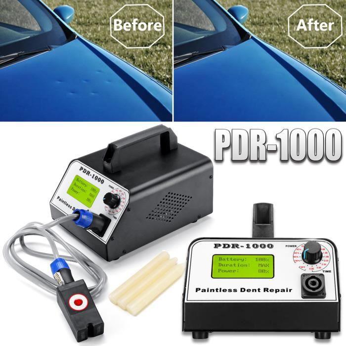 WOYO PDR-1000 220V 1000W Kit Débosselage Carrosserie Sans Peinture Réparation Outils Voiture