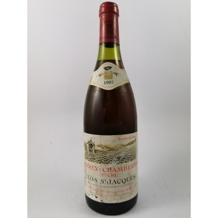 Gevrey-Chambertin - Lavaux Saint Jacques - Domaine Armand Rousseau 1985, Gevrey-Chambertin, Rouge, 75 cl.