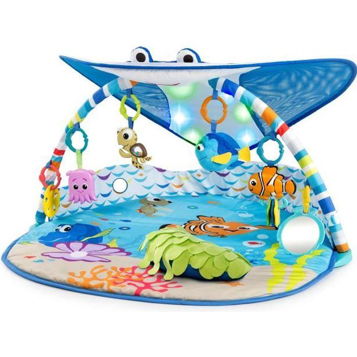 Disney Baby Nemo - Tapis d'Eveil avec lumieres Mr. Ray Ocean™ - Garçon et fille