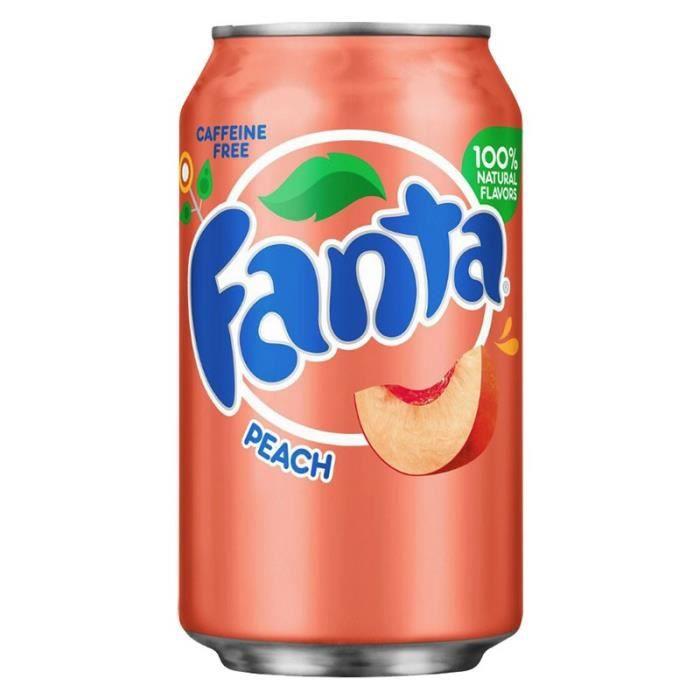 Fanta - Fanta Pêche 35,5cl (pack de 12)