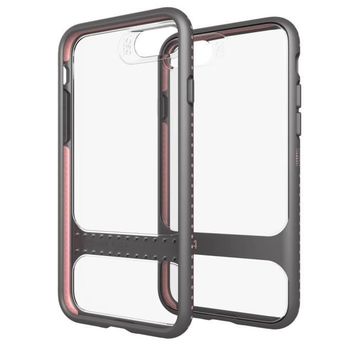 GEAR4 D3O Soho Coque - iPhone 7 Plus - Or rose