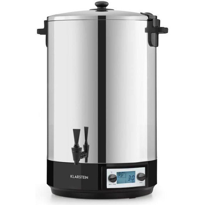 Klarstein KonfiStar 50 Digital Stérilisateur & distributeur de boissons 50 litre