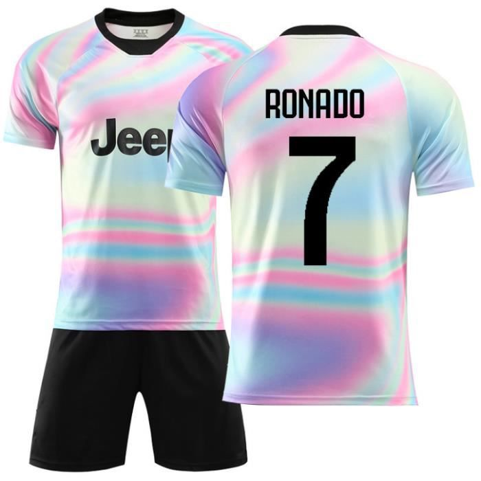 Juventus No. 7 Cristiano Ronaldo Maillot et Shorts de football Enfant/Homme