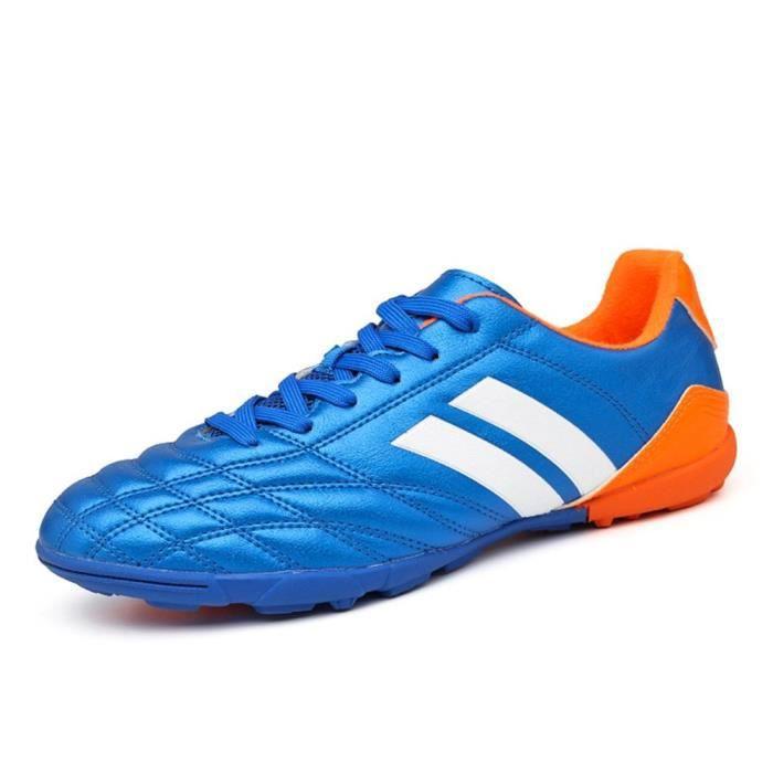 Chaussures De Running ZJHK9 Garçons Turf Crampons Football Athletic Football Sports de plein air / intérieur Chaussures Tf Taille-44