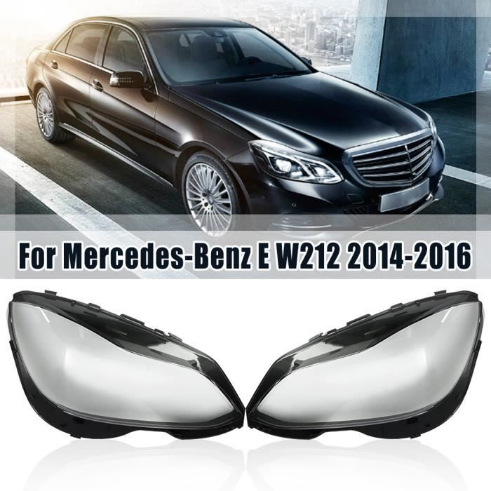 NEUFU Paire Couvertures de Phare AVANT pour Mercedes-Benz E W212 Facelift QT
