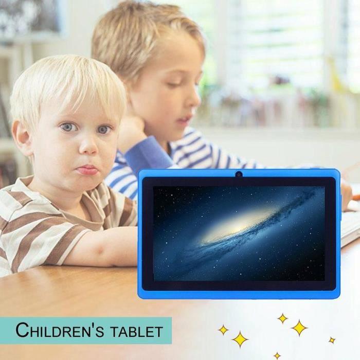 7 pouces enfants tablettes PC Android tablette PC WiFi enfants enfants PAD Android tablette anniversaire cadeau de noël