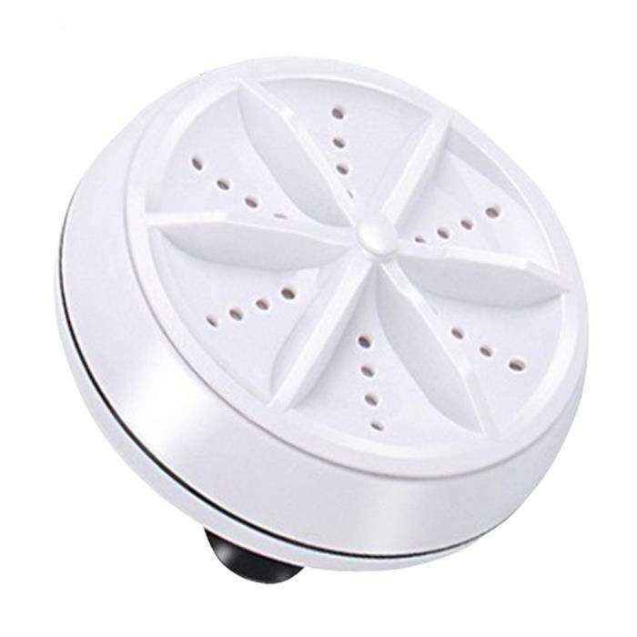 Mini laveuse machine à laver à turbine à ultrasons Portable Turbo rondelle rotative personnelle voyage pratique voyage d'affaires à
