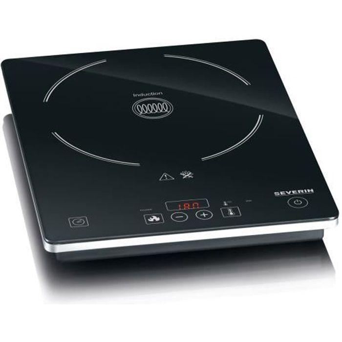 SEVERIN KP1071 Plaque de cuisson posable à induction - Noir