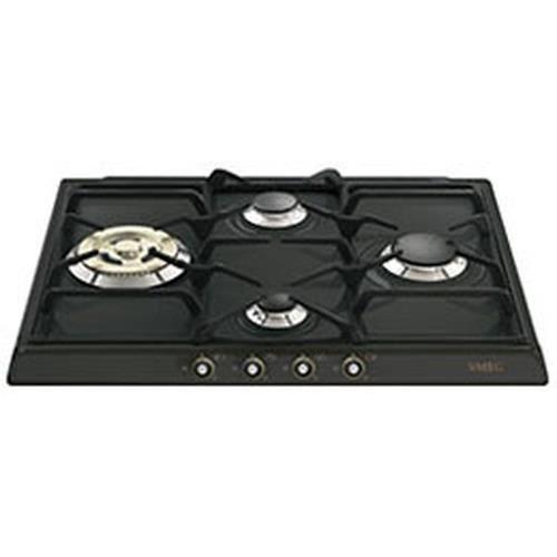 Smeg SR764AO, Intégré, Cuisinière à gaz, anthracite, 1050 W, 1650 W, 2200 W