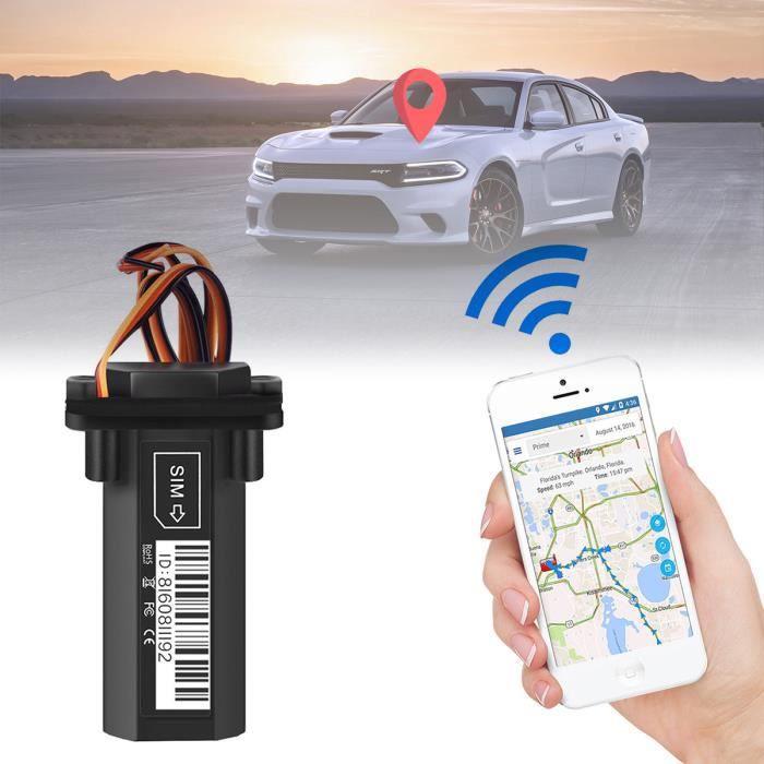 Traqueur GPS de véhicule de moto de voiture GT02 dispositif de suivi de localisateur en temps réel GSM GPRS