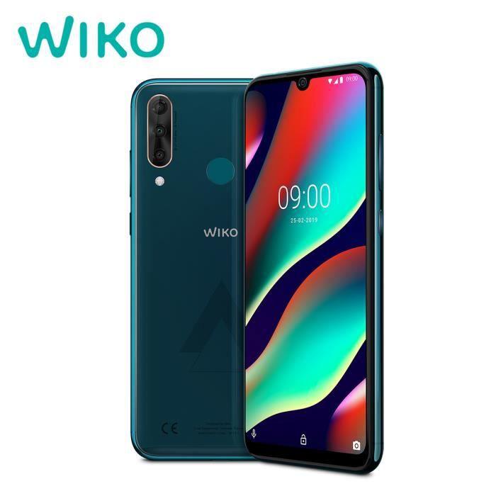 Wiko View 3 Pro 6+128Go Ocean