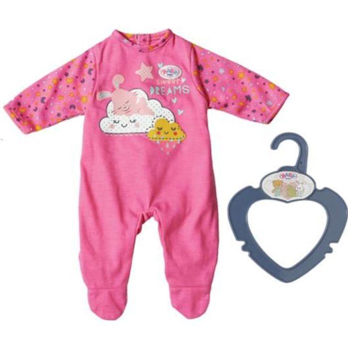 Accessoire pour poupée Zapf Creation 826812-B Baby Born Tenue de nuit rose 36 cm