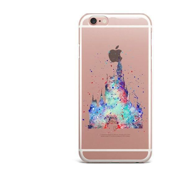 coque iphone 8 disney chateau