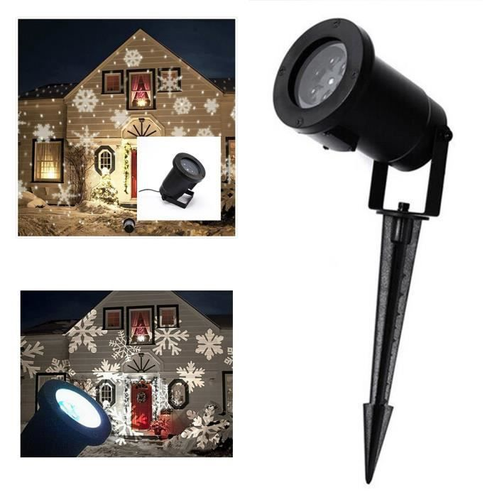Yida world mini projecteur rgb limi re laser neige no l for Eclairage noel exterieur projecteur