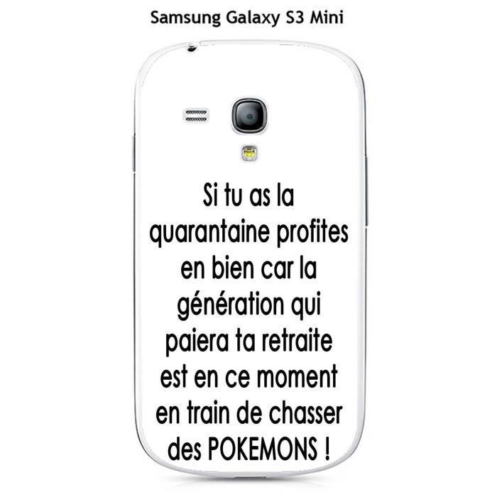 Coque Samsung Galaxy S3 Mini design Citation