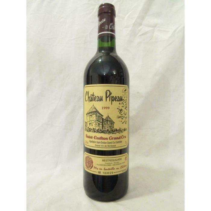 VIN ROUGE saint-émilion château pipeau grand cru rouge 1999