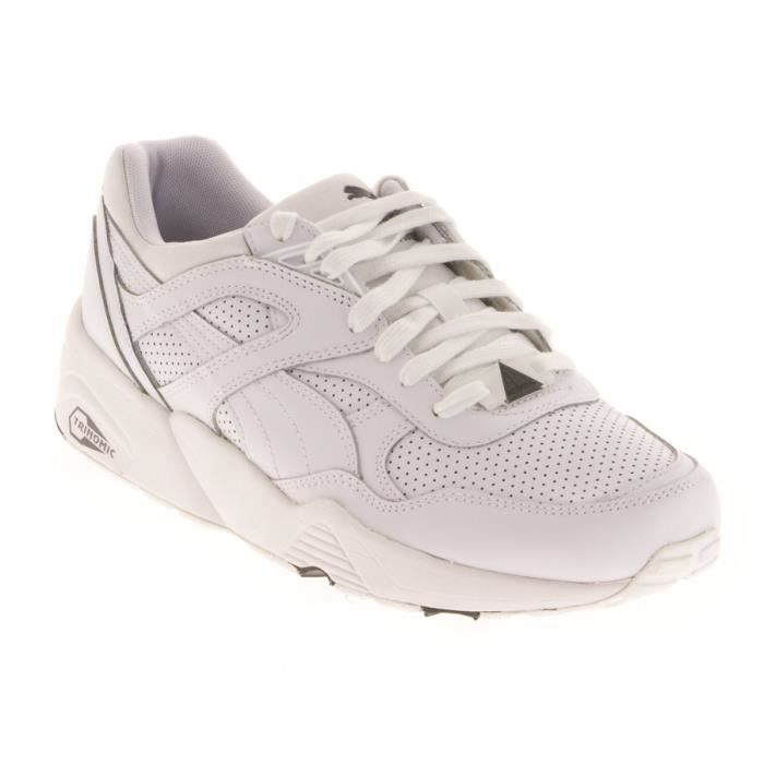 Puma R698 Core Hommes Baskets White Grey - 11 UK 7zDwso1VF