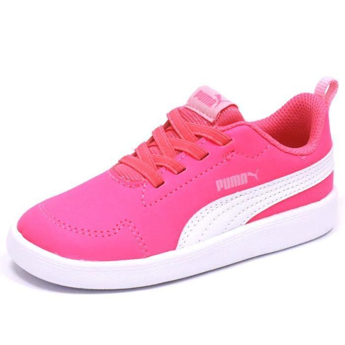 chaussure puma petite fille