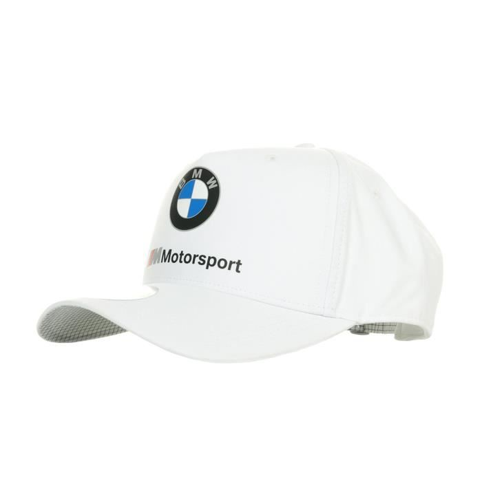 Casquette Puma BMW Motorsport BB Cap Blanc taille
