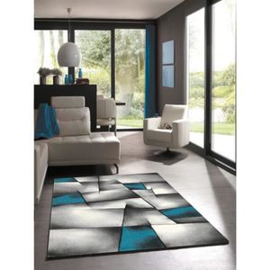 tapis turquoise achat vente tapis turquoise pas cher cdiscount. Black Bedroom Furniture Sets. Home Design Ideas