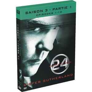 DVD SÉRIE DVD 24 heures chrono, saison 3a