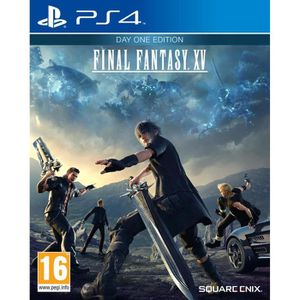 JEU PS4 Final Fantasy XV Day One Edition Jeu PS4