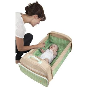 COUFFIN ET SUPPORT BABYSUN Simple Bed - Couffin Nomade Beige