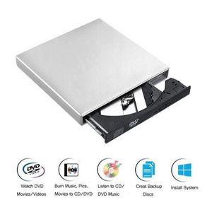 DISQUE DUR EXTERNE Graveur DVD Lecteur Externe,  USB 2.0 Compatible a