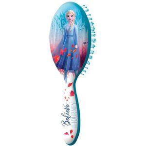 Disney Frozen Brosse à cheveux pliable Frozen Cheveux Brosse /& Miroir Elsa Anna Filles Cadeau