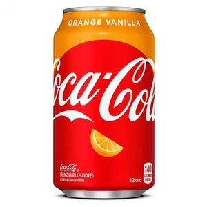 Soda - Thé glacé Coca-Cola Cooke Orange Vanilla 355 ml import US