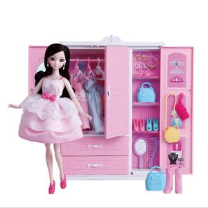 MAISON POUPÉE BARBIE - Armoire Barbie Dress Up Set de jouets de