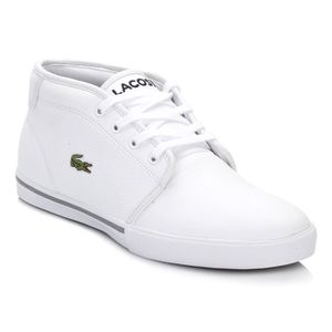 BASKET Lacoste Homme White Ampthill Baskets