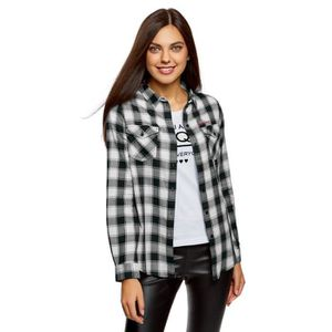 T-SHIRT Coton T-shirt des femmes avec poches poitrine 3AH3