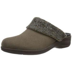 CHAUSSON - PANTOUFLE Verden, chaussons chauds de femmes Lined 3ZM4X5 Ta