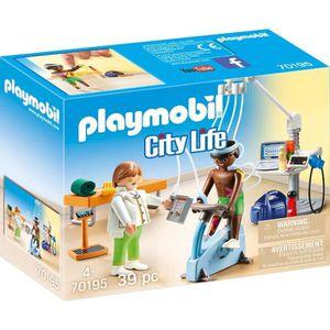 UNIVERS MINIATURE PLAYMOBIL 70195 - City Life L'Hôpital - Cabinet de