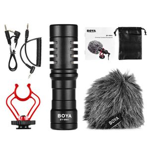 MICROPHONE BOYA BY-MM1 Mini Cardioid Microphone Electrique Co