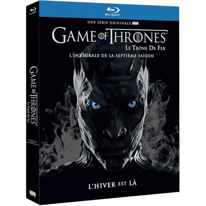 BLU-RAY SÉRIE Coffret Blu-Ray Game of Thrones : Saison 7