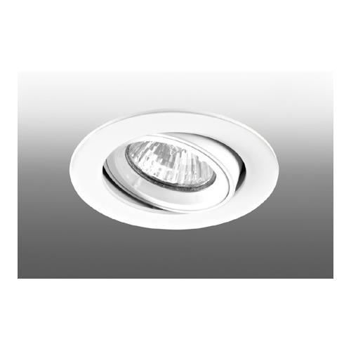 spot encastré rond orientable gu10 aric speed 70-230 blanc